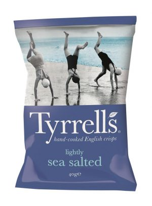 Tyrrells Potato Chips Sml Sea Salt