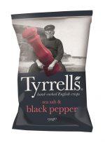 Sea Salt & Black Pepper Crisps 150g