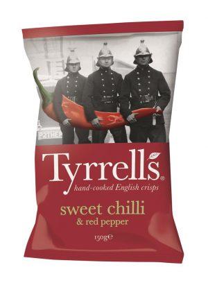Sweet Chilli&Red Pepper Crisps 150g