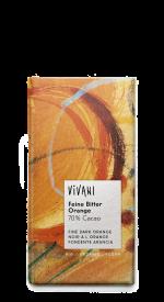 Fine Dark Orange 70% Chocolate 100g