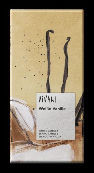 White Chocolate With Bourbon Vanilla 80g