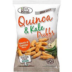 Quinoa Puff Jalapeno & Cheddar