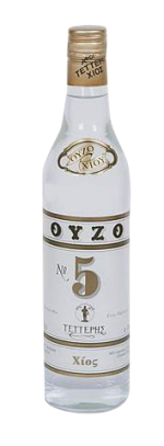 Ouzo No5 46% - Tetteris