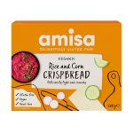 Amisa Organic Gluten Free Corn Rice Crispbread