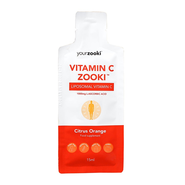YourZooki Liposomal Vitamin C 1000mg