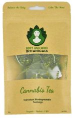 Body & Mind Botanicals Cannabis Tea - Teabags