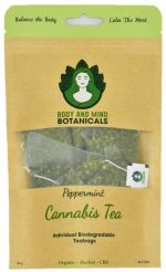 Body & Mind Botanicals Cannabis Peppermint Tea - Teabags