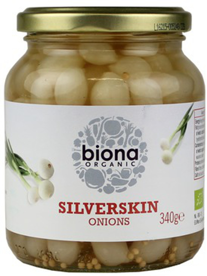 Biona Silverskin Onions Organic