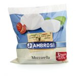 Ambrosi Mozzarella Cow's Bag 125g