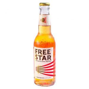 Freestar 0.0% Alcohol Free Beer - bottle