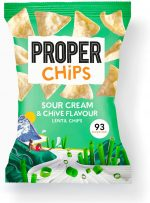 Propercorn Sour Cream & Chives Lentil Chips