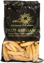 Delicioso Spanish Small Breadsticks 'Picos Artesanos'