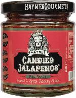 Haynes Candied Jalapenos - Red