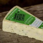 The Cheddar Cheese Gorge Co Cider Garlic Chives Matured Cheddar