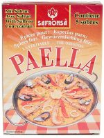 Safronsa Paella Seasoning Sachet With Saffron
