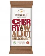 Discover Chocolate Cherry & Walnut Stevia Chocolate