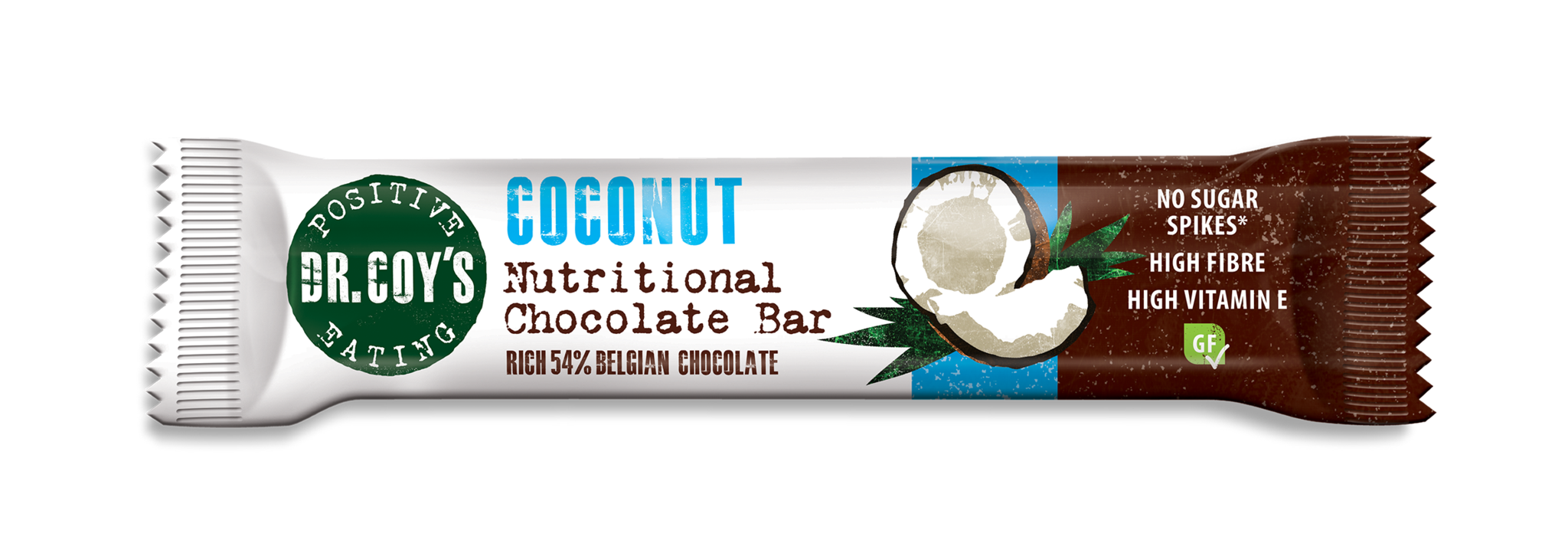 Dr Coys Nutritional Chocolate Bar - Coconut