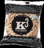 Kolios Flatbread Flatbread Classic Pita (4 Pitas,  Parbaked)
