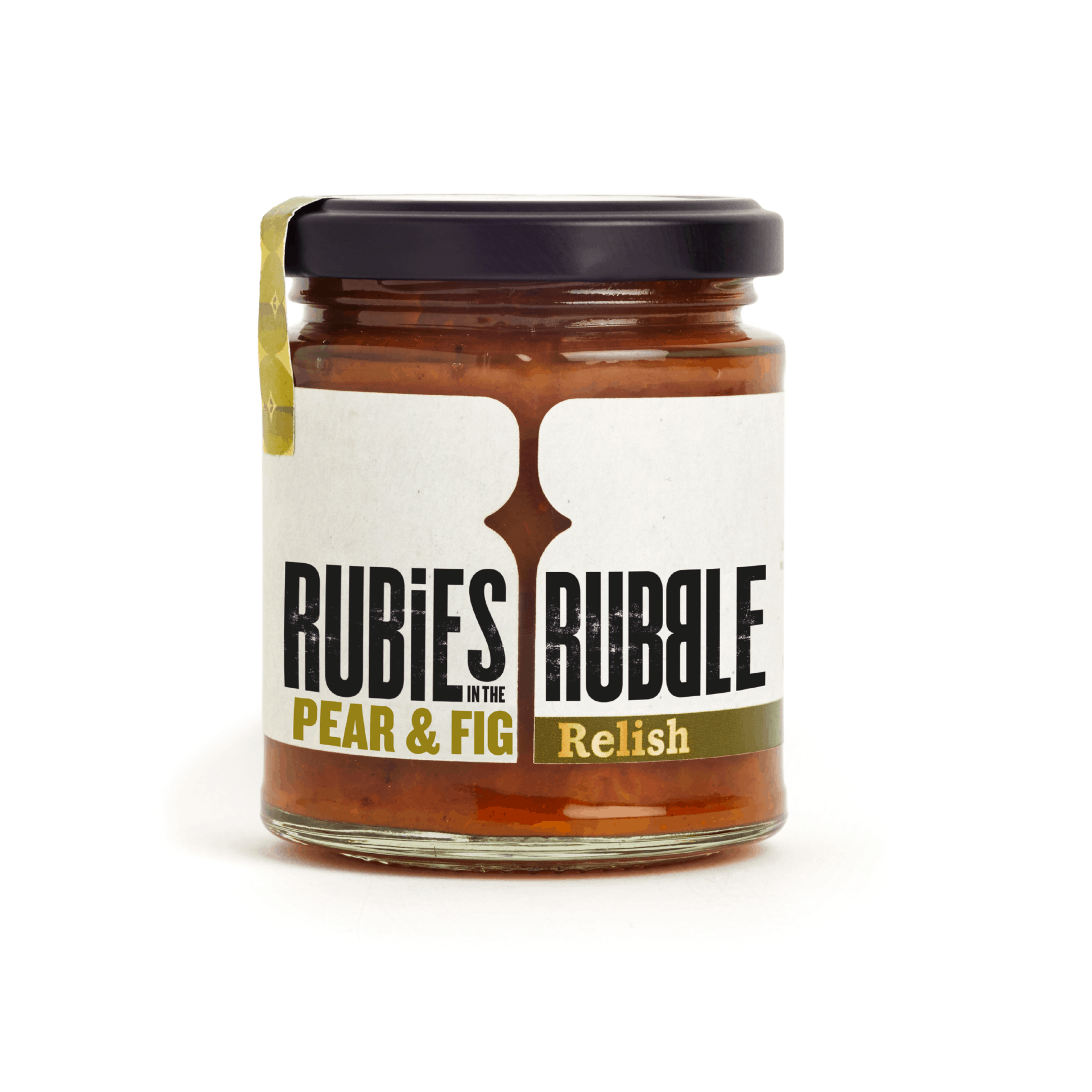 Rubies In The Rubble Pear & Fig Relish