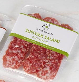 Suffolk Salami Co Suffolk Red Wine & Peppercorn Sliced Salami