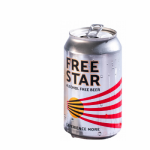 Freestar 0.0% Alcohol Free Beer - can