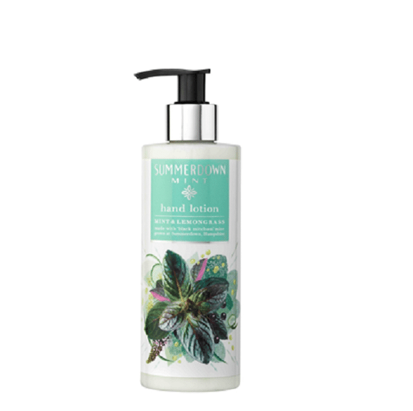 Summerdown Mint Hand Lotion Lemongrass Mint