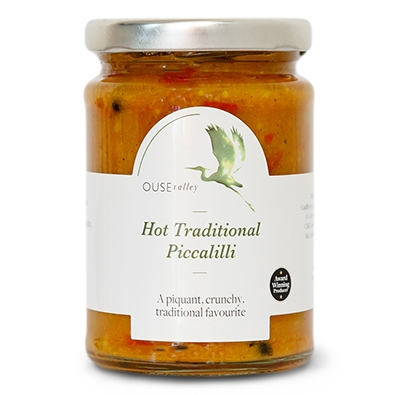 Ouse Valley Hot Traditional Piccalilli