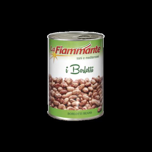 La Fiammante Borlotti Beans (tin)