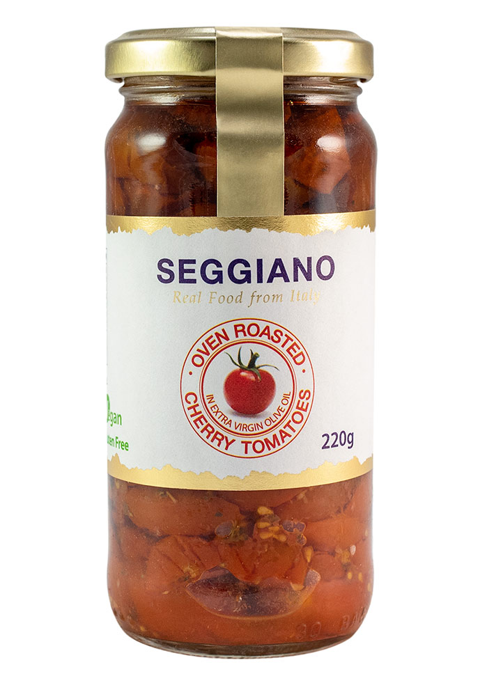 Seggiano Oven Roasted Cherry Tomatoes In Evoo 220g