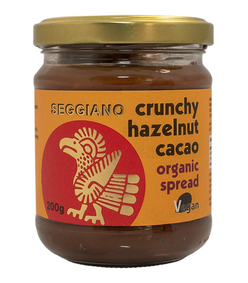 Seggiano Crunchy Chocolate Hazelnut Spread 200g