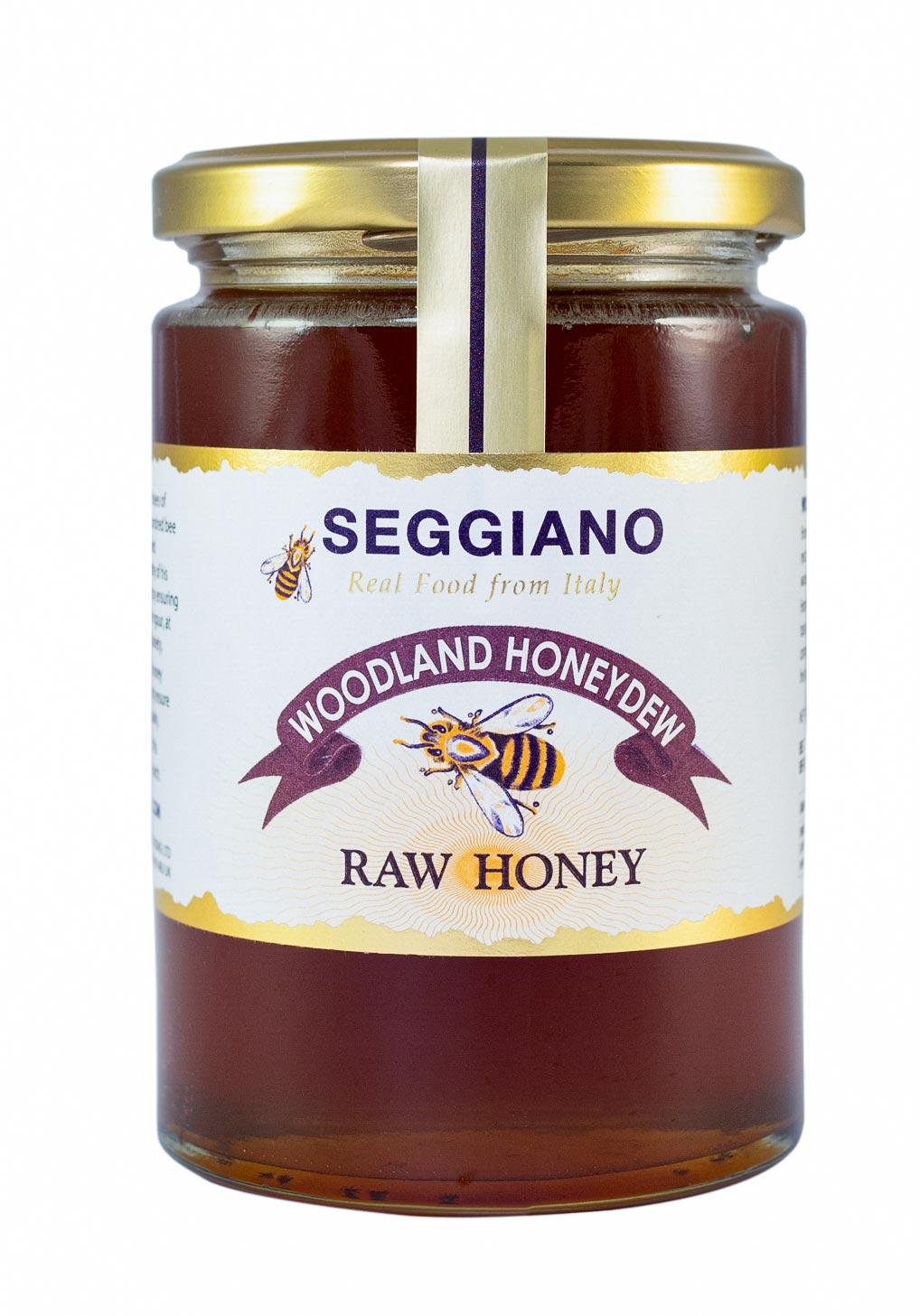 Seggiano Woodland Honeydew Raw Honey 500g