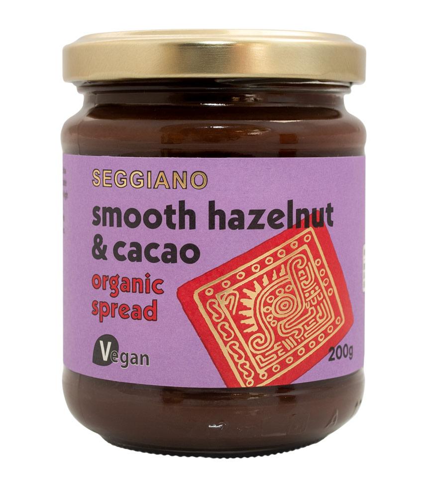 Seggiano Smooth Hazelnut & Cacao Spread 200g