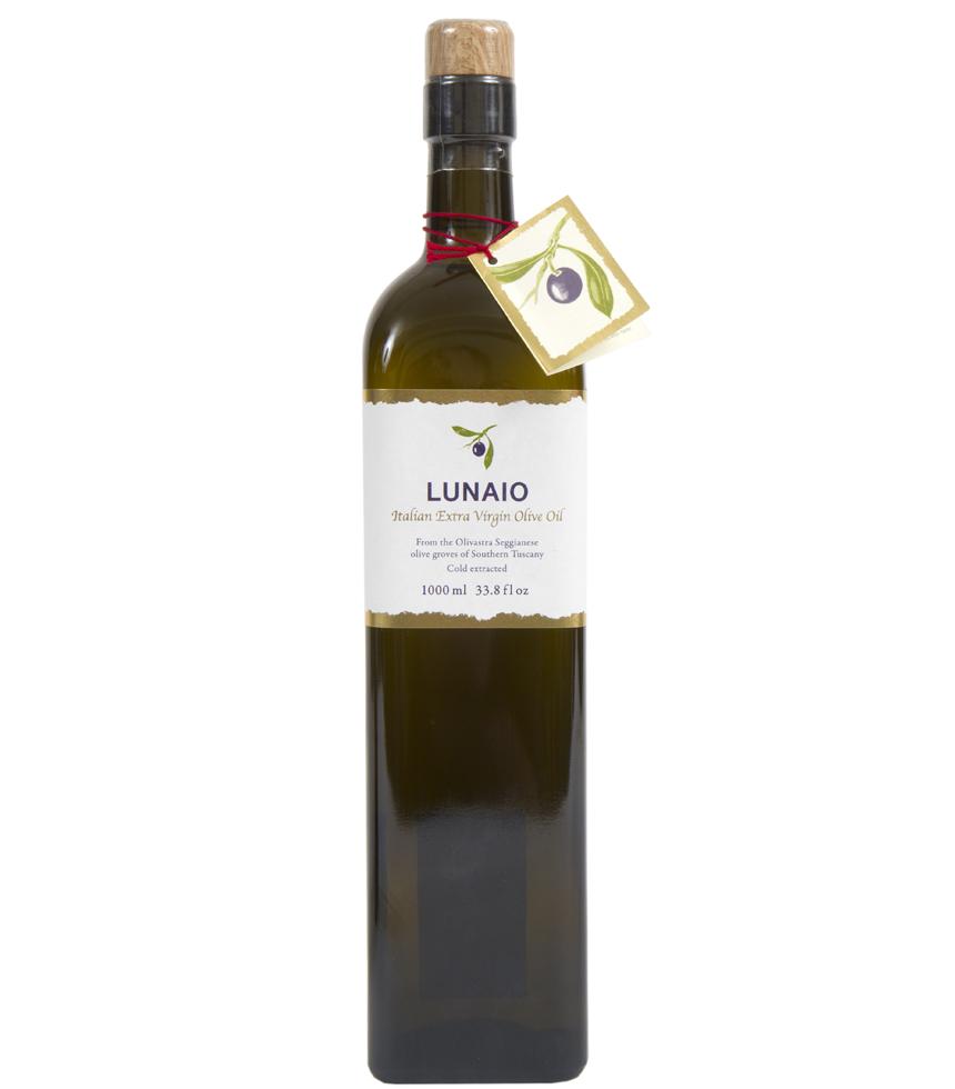 Lunaio By Seggiano Italian Extra Virgin Olive Oil 1000ml