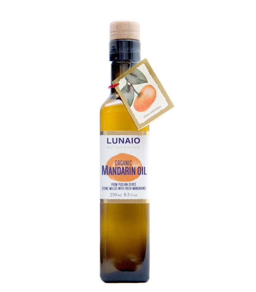 Lunaio By Seggiano Organic Stonemilled Mandarin Olive Oil 250ml