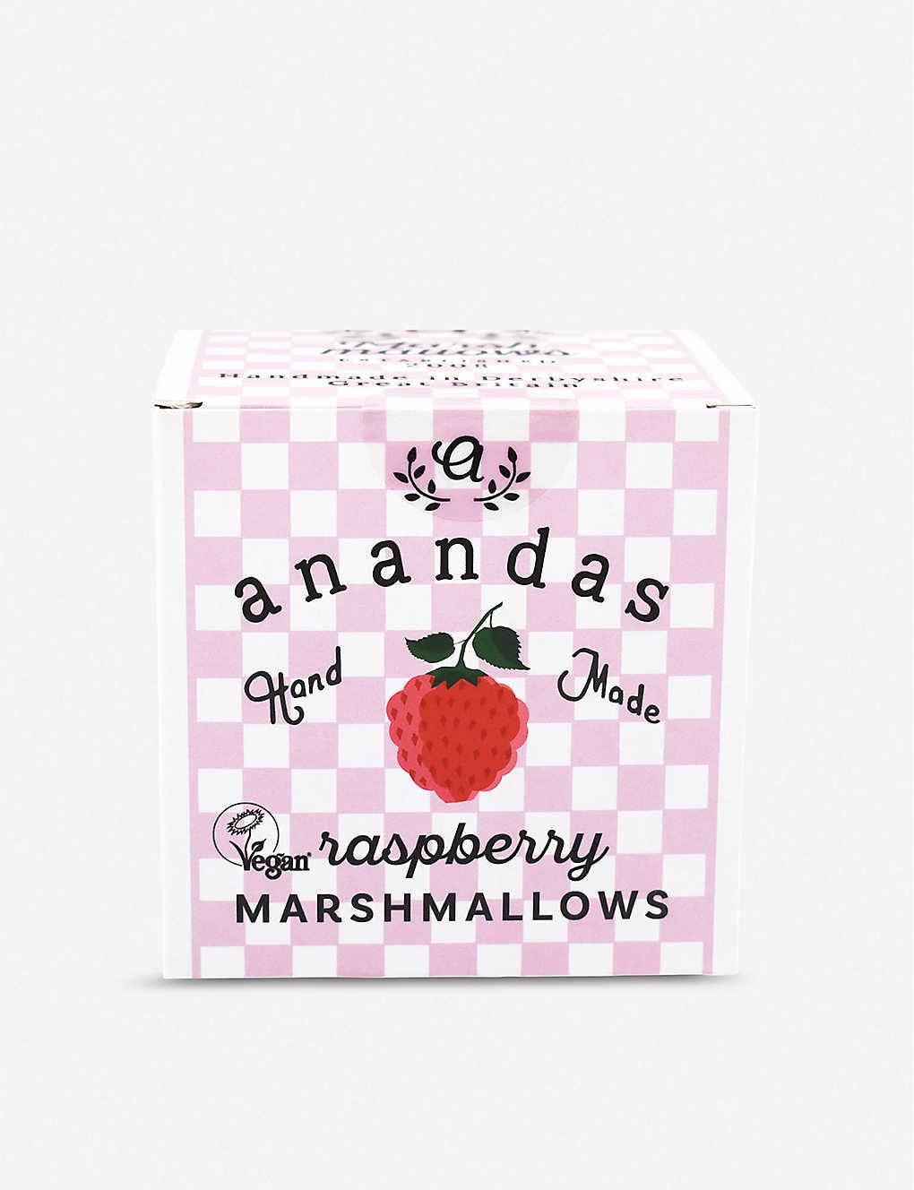 Anandas Food Raspberry Marshmallows (Vegan)