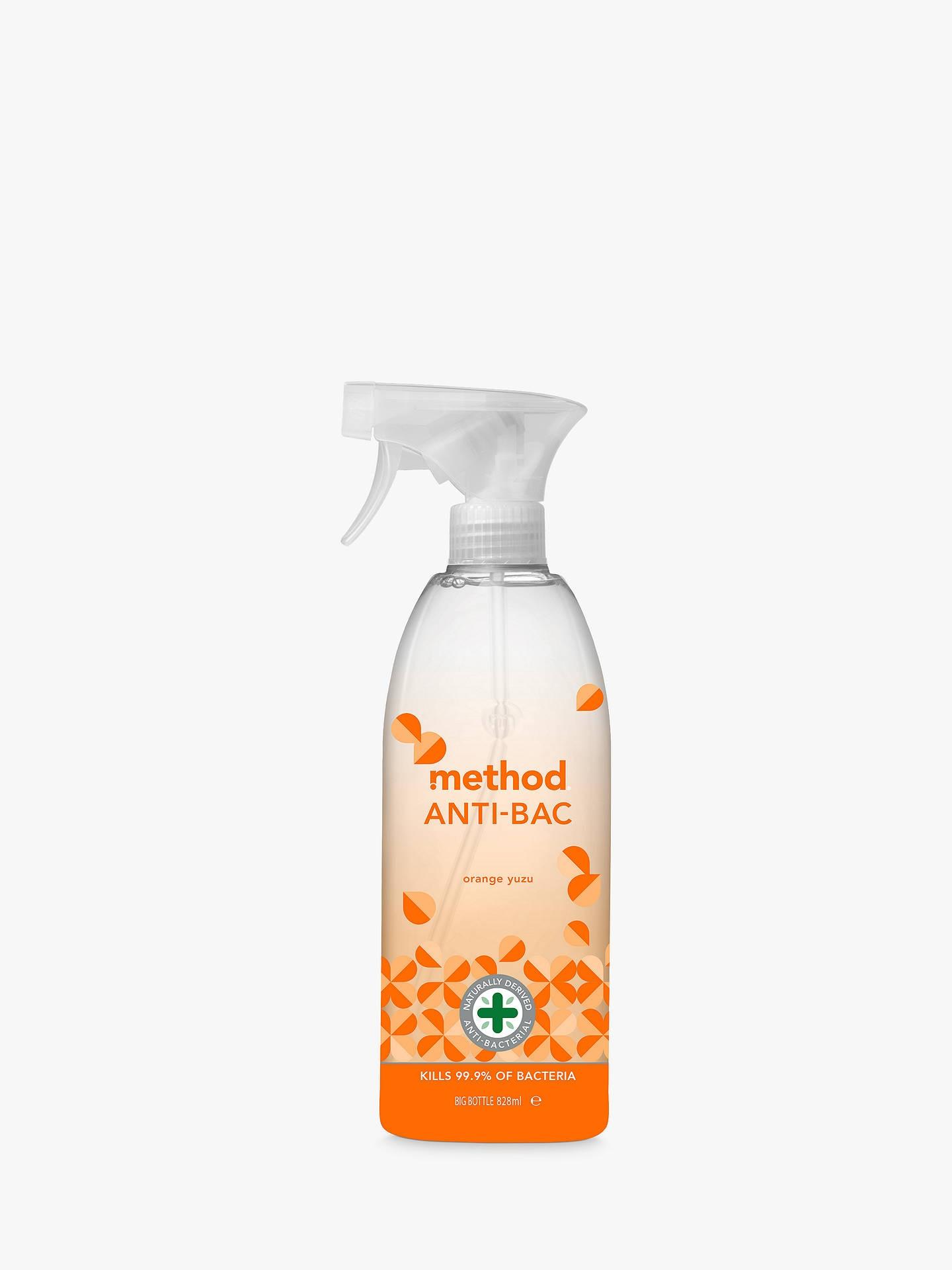 Method Antibac Cleaner Orange Yuzu 828ml