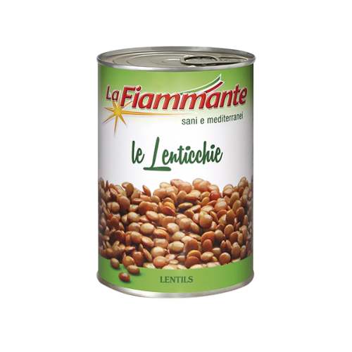 La Fiammante Lentils (tin)