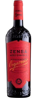 Nero d'Avola DOP Sicilia Organic Zensa Italy