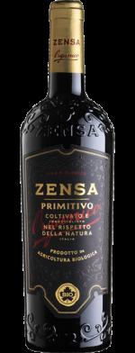 Primitivo IGP Puglia Organic Zensa Italy