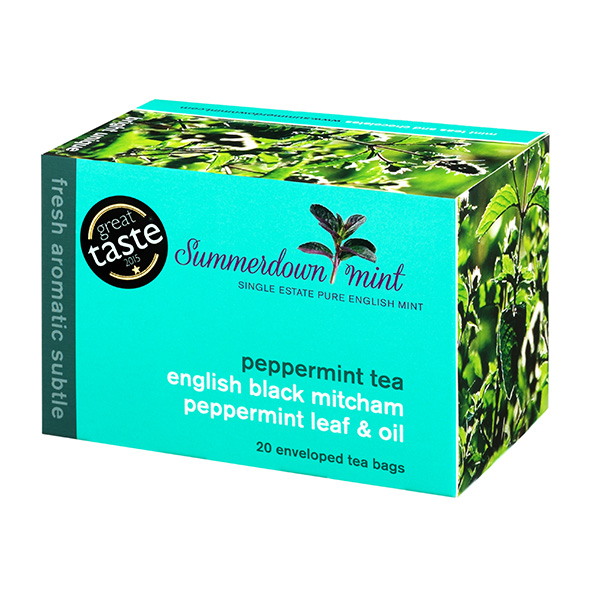 Summerdown Mint English Peppermint Tea - 20 Teabags