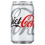 DIET Coca Cola Can 330ml
