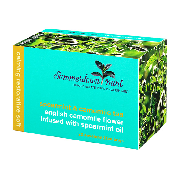 Summerdown Mint English Spearmint & Camomile- 20 Teabags