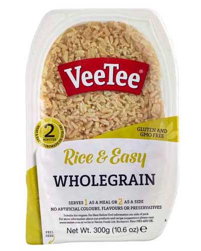 VeeTee Rice & Easy - Wholegrain