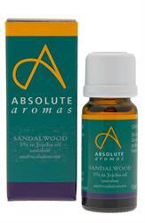 Absolute Aromas Sandalwood 3% in Jojoba 10ml