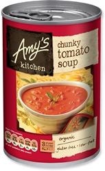 Amys Organic Chunky Tomato Soup 400g