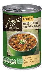 Amys Hearty Rustic Italian Veg Soup 397g