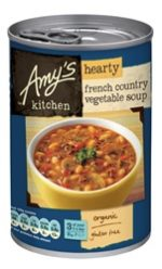 Amys Organic French Country Veg Soup 408g