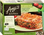 Amys Gluten Free Vegetable Lasagne 255g