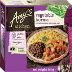 Amys Gluten Free Dairy Free Vegetable Korma 269g