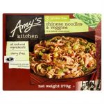 Amys Chinese Noodles & Veggies Gluten Free Dairy Free 270g